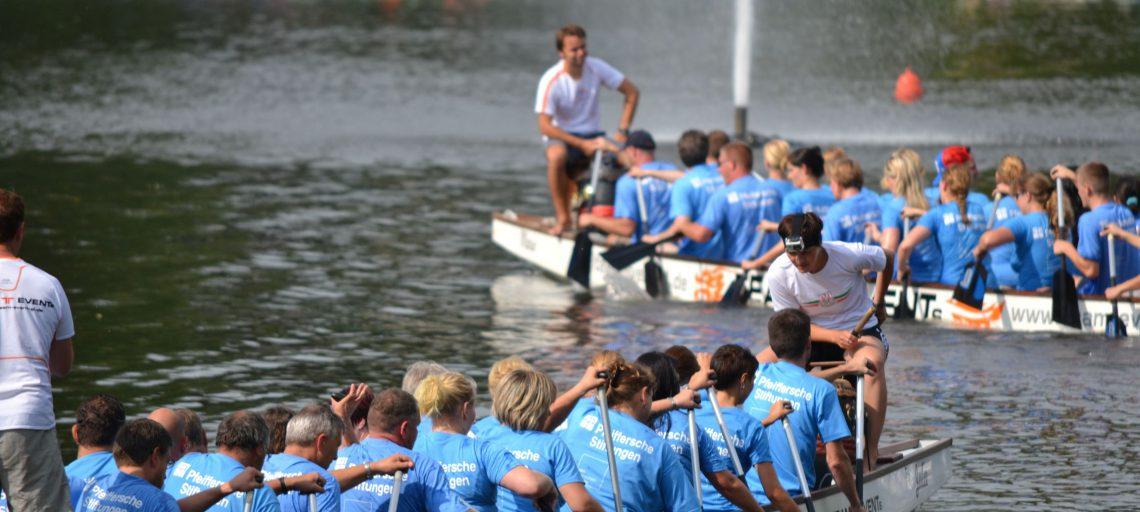 Drachenbootwettkampf als Firmenevent